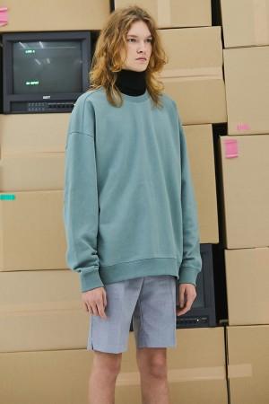 C.r.e.a.m Overfit Sweatshirt (Dusty Mint)