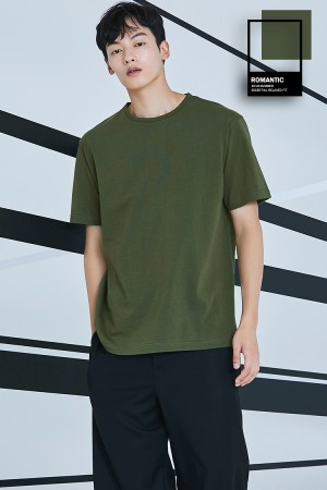ESSENTIAL RELAXED FIT T-SHIRT(KHAKI)